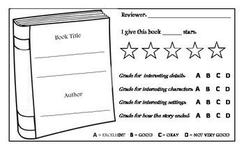 Book Review Postcard