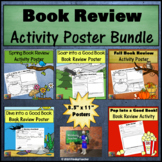 Book Review Poster BUNDLE  *Print and Go!*