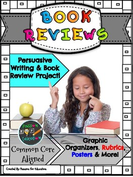 Book Review / Book Review Project (Graphic Organizers, Rub