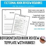 Book Review Project with Rubric
