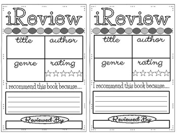 Book Review & Recommendation Slips