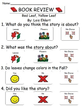 Book Review - Red Leaf, Yellow Leaf