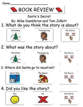 Book Review - Santa's Secret