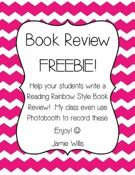 Book Review Summary FREEBIE!