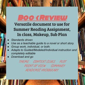 Book Review Summer Reading