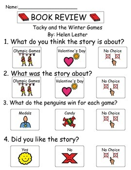 Book Review - Tacky and the Winter Games
