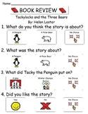 Book Review - Tackylocks and the Three Bears