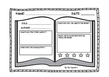 Book review template by mrs siqueiras classroom tpt book review template maxwellsz