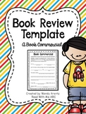 Book Review Template:  A Book Commercial