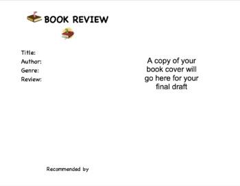 Book Review Template Bulletin Board