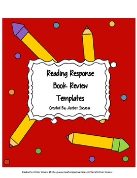 Book Review Templates with Rubrics for ELA CCSS