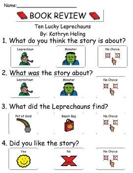 Book Review - Ten Lucky Leprechauns