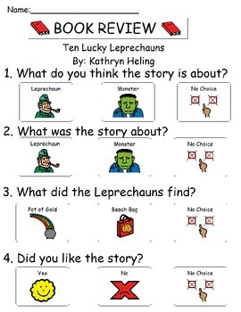 Book Review - Ten Lucky Leprechauns