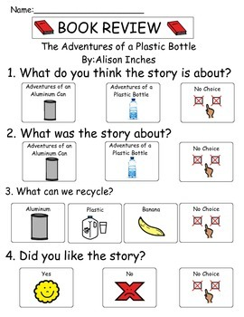 Book Review - The Adventures of A Plastic Bottle