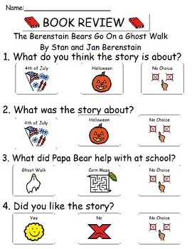 Book Review - The Berenstain Bears Go On a Ghost Walk