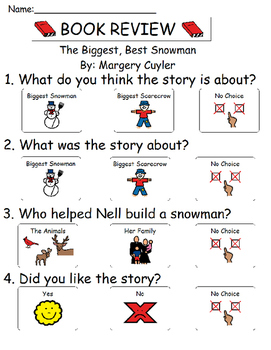Book Review - The Biggest, Best Snowman
