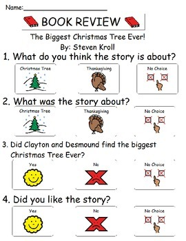 Book Review - The Biggest Christmas Tree Ever!