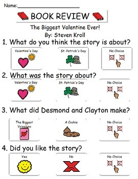 Book Review - The Biggest Valentine Ever!