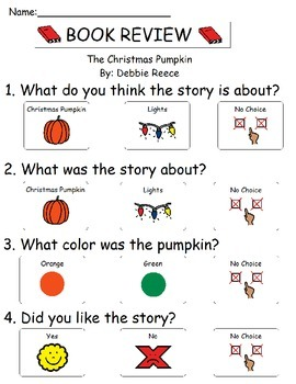 Book Review - The Christmas Pumpkin