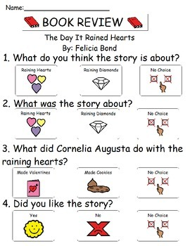 Book Review - The Day It Rained Hearts