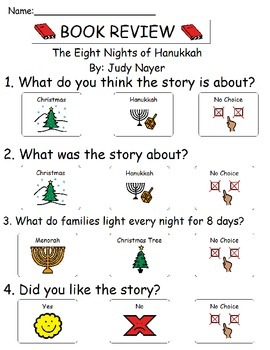 Book Review - The Eight Nights of Hanukkah