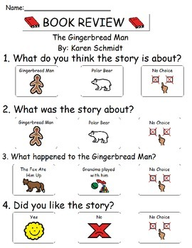 Book Review - The Gingerbread Man