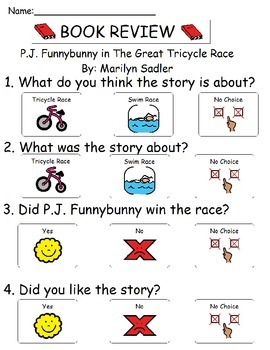 Book Review - The Great Tricycle Race