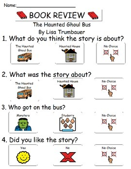 Book Review - The Haunted Ghoul Bus