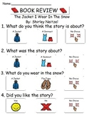 Book Review - The Jacket I wear in the Snow