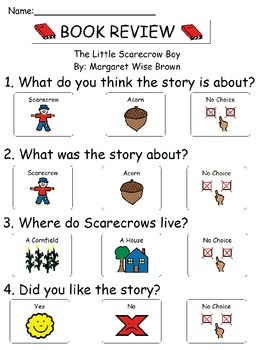 Book Review - The Little Scarecrow Boy