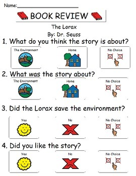 Book Review - The Lorax