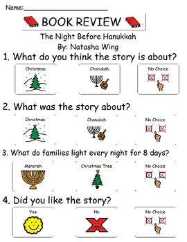 Book Review - The Night Before Hanukkah By Natasha Wing