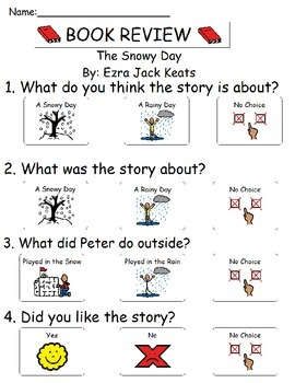 Book Review - The Snowy Day