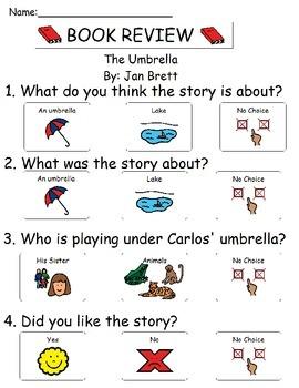 Book Review - The Umbrella