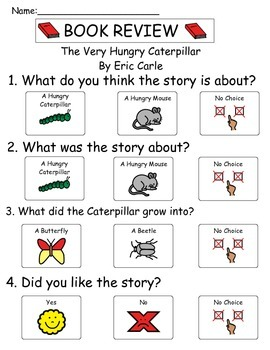 Book Review - The Very Hungry Caterpillar