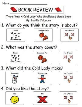 Book Review - There Was a Cold Lady Who Swallowed Some Snow