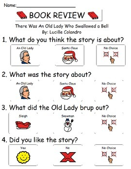 Book Review - There Was an Old Lady Who Swallowed a Bell