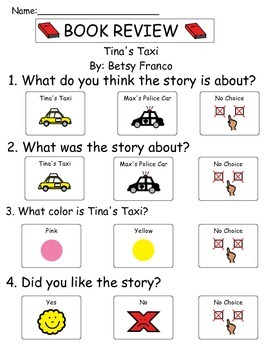 Book Review - Tina's Taxi