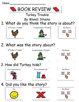 Book Review - Turkey Trouble