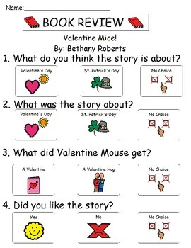 Book Review - Valentine Mice