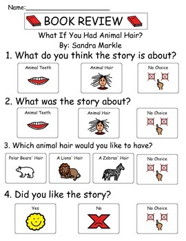Book Review - What If You Had Animal Hair?