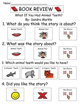 Book Review - What If You Had Animal Teeth?