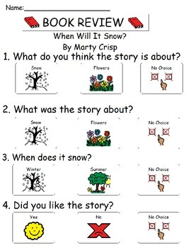 Book Review - When Will It Snow?