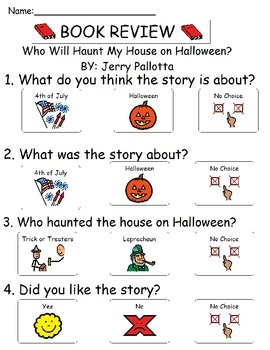 Book Review - Who Will Haunt My House on Halloween?
