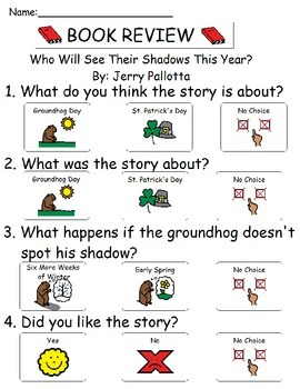 Book Review - Who Will See Their Shadow This Year?