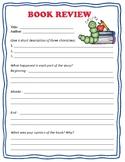 Book Review Worksheet!