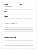 Book Review and Genre Worksheet