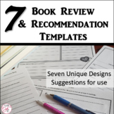 Book Review and Recommendation Templates