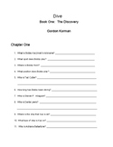 Book Review and Student Activites for Dive  Book One: The
