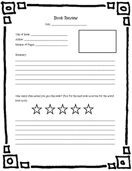 Book Review for Guided Reading